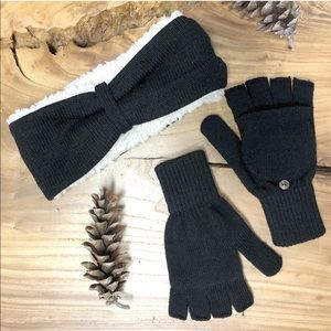 🆕 Bear Paw Headband & Gloves Set